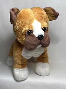 "Melissa & Doug #7491 Bentley Boxer 12"" Plush Stuffed Animal Excellent Condition"