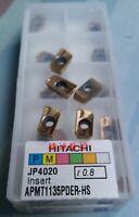 Hitachi APMT1135PDER-HS JP4020 16R0.8 CNC Blade 10PCS/BOX