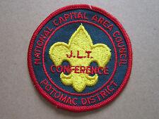JLT Conference Potomac District BSA Woven Cloth Patch Badge Boy Scouts Scouting
