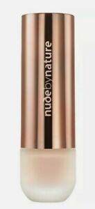 """NUDE BY NATURE FLAWLESS """"NEW LIQUID FOUNDATION"""" SHADE W2 IVORY 30mL"""