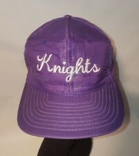 Purple Knights Snapback Baseball Cap Dad Hat One Size Universal Ripstop