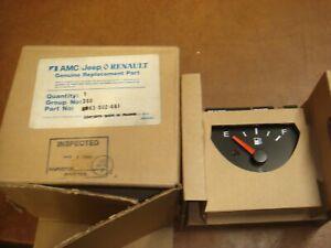 Vintage NOS Veglia Jeep AMC Renault  Fuel Gauge France 83-502-661