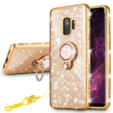 Luxury Diamond Bling Glitter TPU Case Cover For Samsung Galaxy S9 Plus J7 Prime