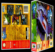 Aero Gauge - N64 Reproduction Art Case/Box No Game.