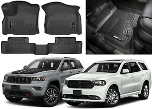 Husky Liners 99151 For Dodge Durango &Jeep Grand Cherokee 2016-18 New Free Ship!