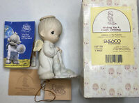 Enesco Precious Moments Wishing You a Comfy Christmas 527750 Figurine With Box