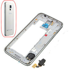 Middle Bezel Frame Camera Cover Back Housing For Samsung Galaxy S5 SV i9600 G900