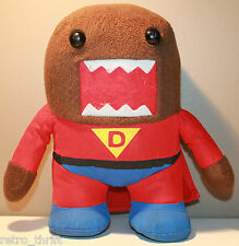 """9.5"""" Super Domo Plush Character Red Suit and Cape"""
