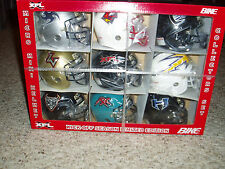 XFL LIMITED EDITION  MICRO HELMET SET NEW IN BOX