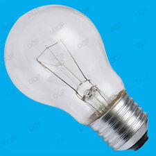 6x 100W à variation Transparent GLS Standard Incandescent Ampoule ES E27