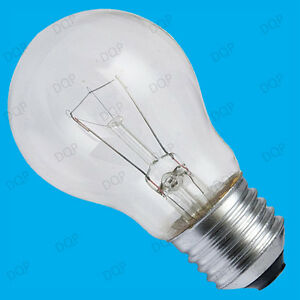 10x 100W Dimmable Clear GLS Standard Incandescent Light Bulbs ES E27 Screw Lamps