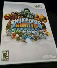 Skylanders Giants Video Game Only for Wii (Wii, 2012) Will work on WiiU