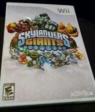 Skylanders Giants Video Game Only for Wii (Wii, 2012) Will work on WiiU