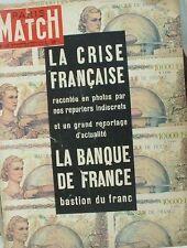 PARIS MATCH Le Franc Avion Crash Nice-Paris Terre Adelie Presle