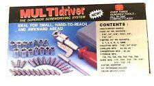 41pc Tight Angle Multi Screwdriver hand or drill attachment Set installers