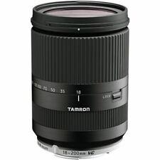 Tamron 18-200mm 1:3,5-6,3 di VC III negro para Sony e-Mount