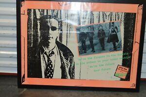 Mega RaRe OriGiNaL US.1977 SEX PISTOLS Never Mind the Bollocks Punk PROMO Poster