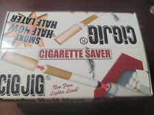 Cig Jig Cigarette Saver Assorted Colors Display Box of 30