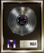 Elvis Presley Moody Blue LP Platinum Non RIAA Record Award RCA Records To Elvis