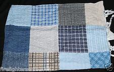 Boys Sheringham Road Braydon F/Q Quilt Set Blue Patchwork Sports new