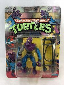 TMNT 1988 FOOT SOLDIER MOC 10 back Teenage Mutant Ninja Turtles Figure
