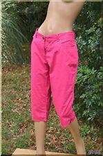 Pantacourt rose KWOMAN  grande  taille  44  ref 0717176
