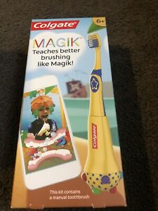 Colgate Magik Manual Toothbrush - Teaches Better Brushing Age 6+ Track & Reward