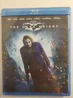 The Dark Knight (Blu-ray Disc, 2010 Christian Bale Michael Caine Heath Ledger