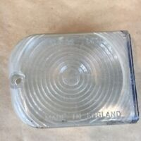 OEM Morris Oxford Austin A55 Lucas L630 Clear Lens Only Rear Left Side Original
