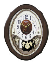 Rhythm Clocks Precious Angels Musical Motion Clock (4MJ894WD06)