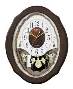Rhythm Clocks Precious Angels Musical Motion Clock (4MJ894WD06)