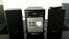 Panasonic SA-PM 45 * kleine Kompaktanlage schwarz * Kassette CD Radio USB * TOP