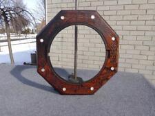 Octagon Top MOP Ansonia Welch Wall Office Regulator Clock Case Parts Restore