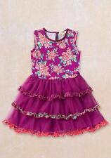 Matilda Jane FREJA Dress 12 Floral Tank Layered Tulle Skirt Friends Forever NWT