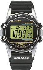Timex Expedition Digital Dial White and Black Resin Quartz Men's Watch T77511