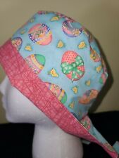 Pixie Style: Easter Eggs and Chicks - Surgical Scrub Cap