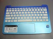 NEW 855026-001  HP 15-AY 15-AY015DX 15AY Palmrest TOP COVER KEYBOARD Blue US