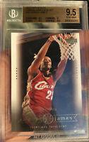 LEBRON JAMES Rookie 2003-04 UPPER DECK BOX SET BGS 9.5 GEM MINT CARD #15 Lakers