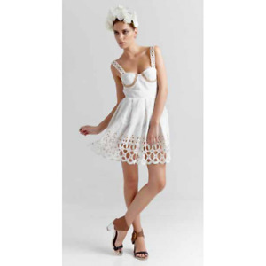 MISS MILNE - Nereides Dress (MMSS2012.002.000 - White size XS)