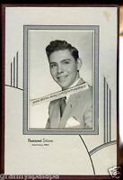 Antique Photo-Hastings Nebraska in Art Deco Folder-Young Man-Haberman Studio