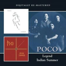 POCO - LEGEND/INDIAN SUMMER 2 CD NEU