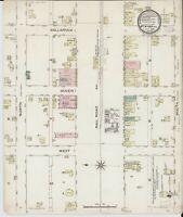 Atkins, Arkansas~Sanborn Map© sheets~ 15 maps~~ CD~in full color~1886-1913