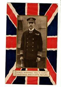 Military Naval Postcard - Unidentified WW 1 Era Sailor - Admiral Jellicoe ?