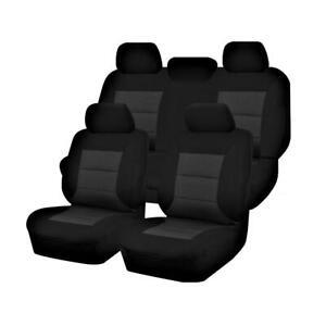 Premium Car Seat Covers For Volkswagon Amarok 2H Series 2011-2020 4X4 Dual Ca...