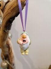 Disney Snow White & Seven Dwarf Sleepy Christmas Tree Decoration Figure