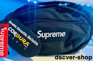 Supreme Waist/Shoulder/Bum Bag SS18 • Brand New with Tags • 2 Zip Pockets • UK •