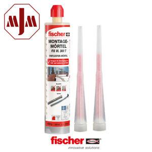 Fischer Montagemörtel FIS VL 300 T + 2 Statikmischer je Kartusche