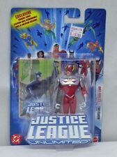 Justice League Unlimited Anti Amazo Flash Mattel NIP Blue Package 4+ S150-1