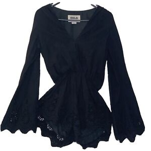 Stone Cold Fox Lacy Style Playsuit