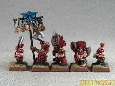 25mm Warhammer WDS painted Dwarf Slayer Command b43
